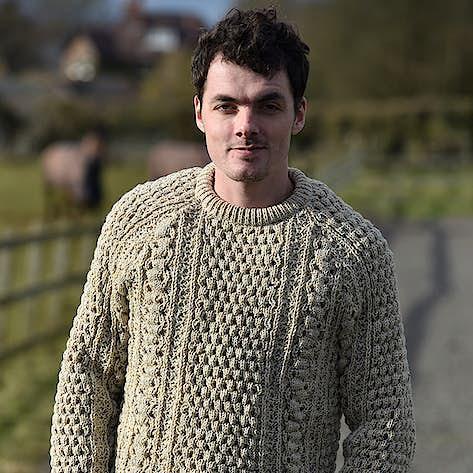 cf8f8a45ffdcdd Aran sweaters, Donegal Aran jumpers, Irish woollen knitwear for men ...