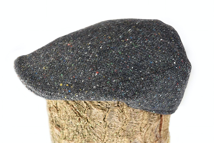 3e89d3242 Hanna Donegal touring cap in grey salt and pepper tweed.   Irish ...