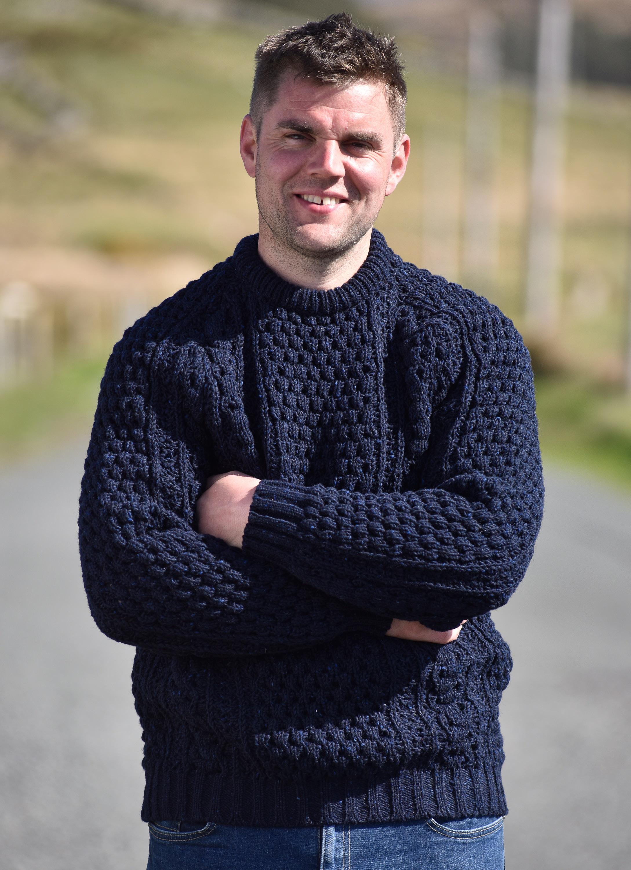 Aran Sweaters Donegal Aran Jumpers Irish Woollen Knitwear For Men