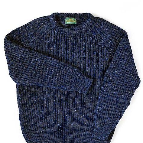 f36da3c13 Irish Inspiration for 100% wool crew neck sweaters for men or women ...