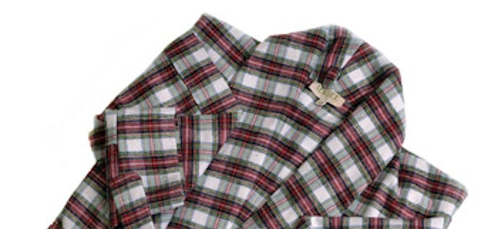 1eea345019 Magee s Irish Flannel Dressing Gown Nightrobe
