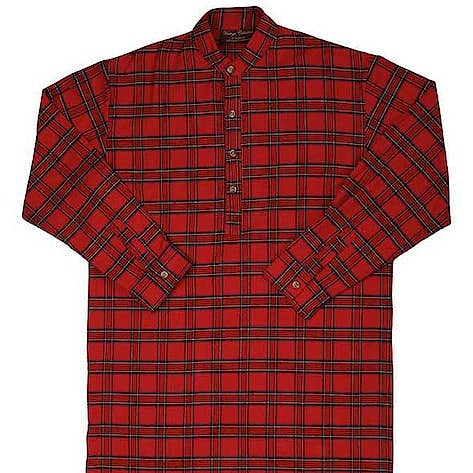 9e96277a61 Lee Valley Brushed Cotton NIGHTSHIRT - Red Tartan LV27